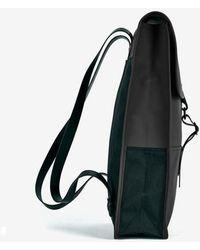 Rains Black Mochila Backpack