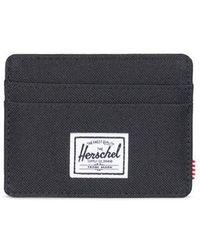 Herschel Supply Co. Portefeuille Rfid Charlie Black - Noir