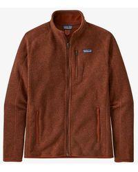 Patagonia Better Sweater Barn Red Fleece Jacket - Brown