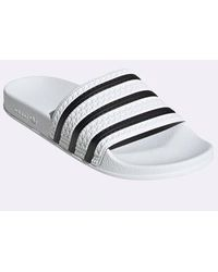 adidas Adilette - White