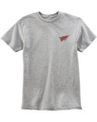 Red Wing Heritage Logo T Shirt Light Grey