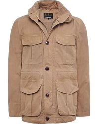 Barbour Crole Jacket Stone - Natural