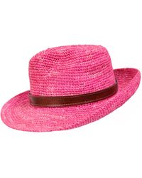 The West Village Naturally Fedora Pink - Multicolor