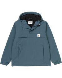 Carhartt Jacket Nimbus Blue Duck Man Winter