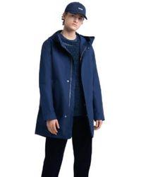 Herschel Supply Co. Peacoat Fishtail Parka Jacket - Blue