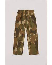 YMC Pantalones Sylvian Multi - Multicolor