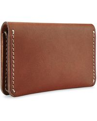 Red Wing Card Holder Wallet Oro Russet Frontier - Brown