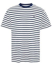 Tommy Hilfiger - Maglietta Tommy Jeans a righe blu scuro - Lyst