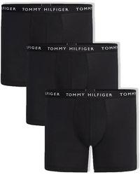 Tommy Hilfiger Paquete de 3 bóxers (negro / negro / negro)