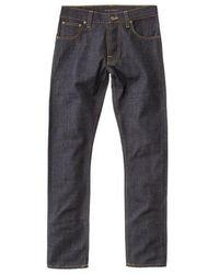 Nudie Jeans - Jeans Dude Dan Comfort Comfort scuro - Lyst