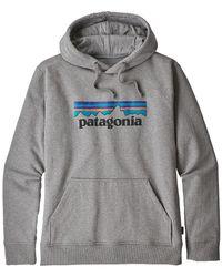 Patagonia Ms Logo Uprisal Hoody Gravel Heather - Gray