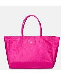 Essentiel Antwerp Large Zeacon Fuschia Shopper Bag - Pink