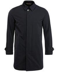 Ermenegildo Zegna Navy Rain Coat - Blue