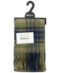 Barbour Tartan Lambswool Scarf Classic - Multicolour