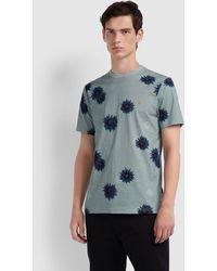 Farah Yandell T Shirt - Blue