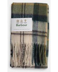 Barbour Tartan Scarf In Ancient - Multicolour