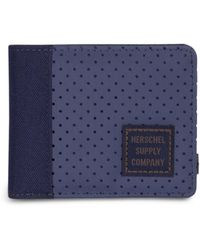 Herschel Supply Co. Portefeuille Edward Army Peacoat - Bleu