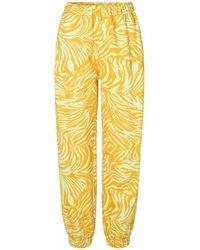 Stine Goya Pantalon Zaza Zebra Orange Durable - Jaune