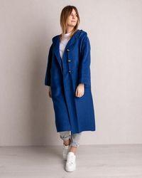 American Vintage Coat Indigo - Blue