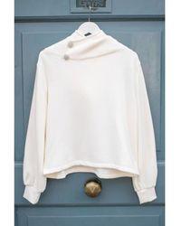 Ba&sh Https://www.trouva.com/it/products/baandsh-ba-sh-daren-ecru-sweatshirt - Multicolore