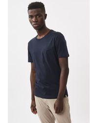 Minimum Nowa T Shirt 0248 Blazer blu scuro