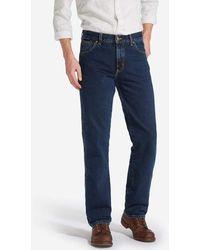 Wrangler Texas Authentic Straight Jeans Blue Black