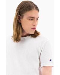 Champion Maglietta girocollo bianca - Bianco
