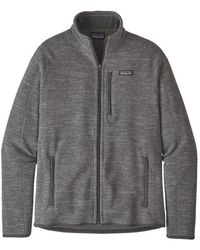 Patagonia Https://www.trouva.com/it/products/-better-sweater-jacket-nickel-1 - Grigio