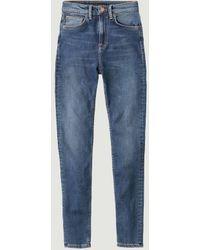Nudie Jeans Jean Hightop Tilde - Blue