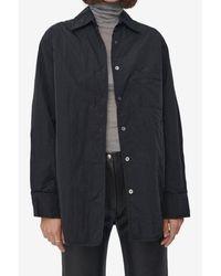 Our Legacy Black Tech Lend Padded Jacket - Multicolour