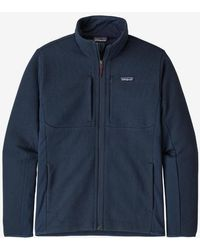 Patagonia Camisa tipo suéter Ms Lightweight Better para hombre - Azul