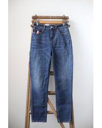 Scotch & Soda Jeans aderenti slim fit aderenti Dark Wash - Blu