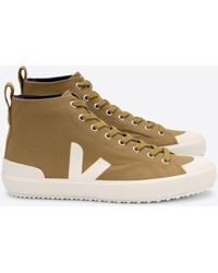 Veja - Chaussures montantes en toile Nova - Lyst