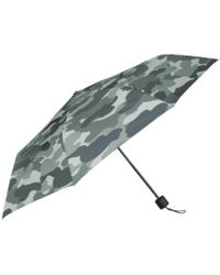 Becksöndergaard Green Nylon Camo Print Umbrella