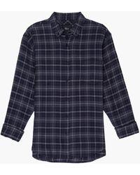 Rails Lennox Plaid Shirt - Blau