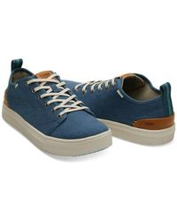 TOMS Zapatillas porte Blue Toms Canvas Trvl Lite - Azul