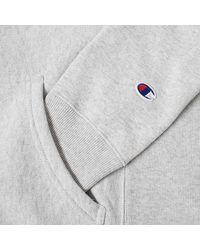 Champion Felpa con cappuccio Reverse Weave Script Logo grigio mélange - Multicolore