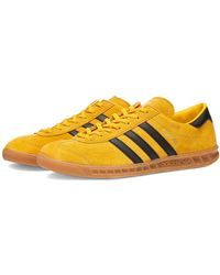 Hamburg Yellow Black Gold Shoes