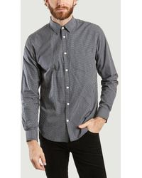 Norse Projects - Twilight Blue Osvald Shirt - Lyst