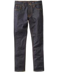 Nudie Jeans Jeans slim fit slim (asciutti 16 gocce) - Blu