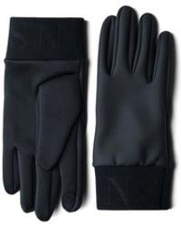 Rains Handschuhe 1672 schwarz.