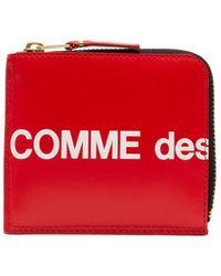Comme des Garçons Brieftasche für Herren - Rot