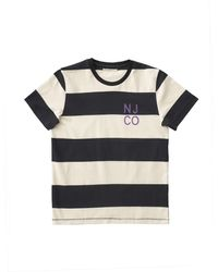 Nudie Jeans Roy Block Stripe Tee - Multicolor