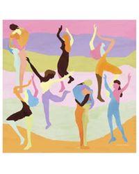 Stine Goya Danza la bufanda Gerdis - Multicolor