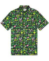 Lacoste Https://www.trouva.com/it/products/-x-jeremyville-shirt-navy-blue-and-multicolour - Verde