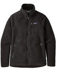 Patagonia Retro Pile Jacket - Black
