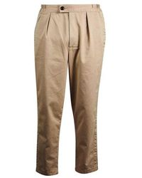 Barbour Twill Rugby Trousers Sand - Natural