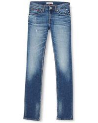 Tommy Hilfiger Jeans slim fit Tommy Jeans Scanton Clint 5 anni lavaggio - Blu