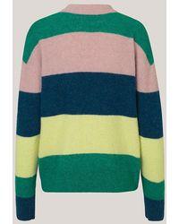 SamsoeSamsoe Suéter de rayas a rayas - Azul