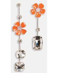 Essentiel Antwerp Zuesday Earrings Orange - Multicolour